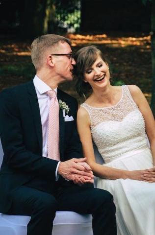Hochzeitsfotografie Trauung glücklich