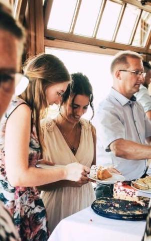Hochzeitsfotografie Kuchen