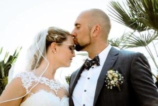 Fotografie Hochzeit Kuss