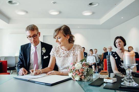 Hochzeitsfotografie Vertrag Standesamt