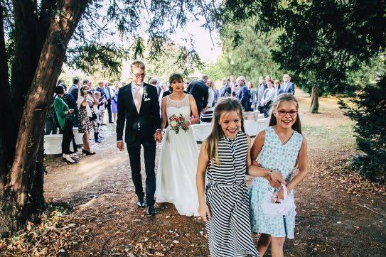 Hochzeitsfotografie Blumenmädchen