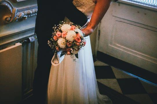 Hochzeitsfotograf Blumenstrauß